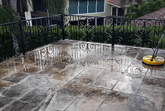 Balcony Pressure Cleaning Boca Raton